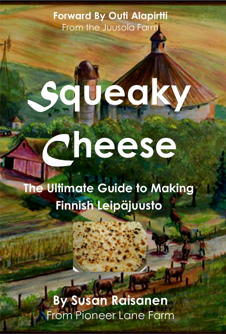Squeaky Cheese Recipe on Amazon
